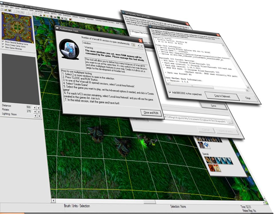 Warcraft III Tool resource