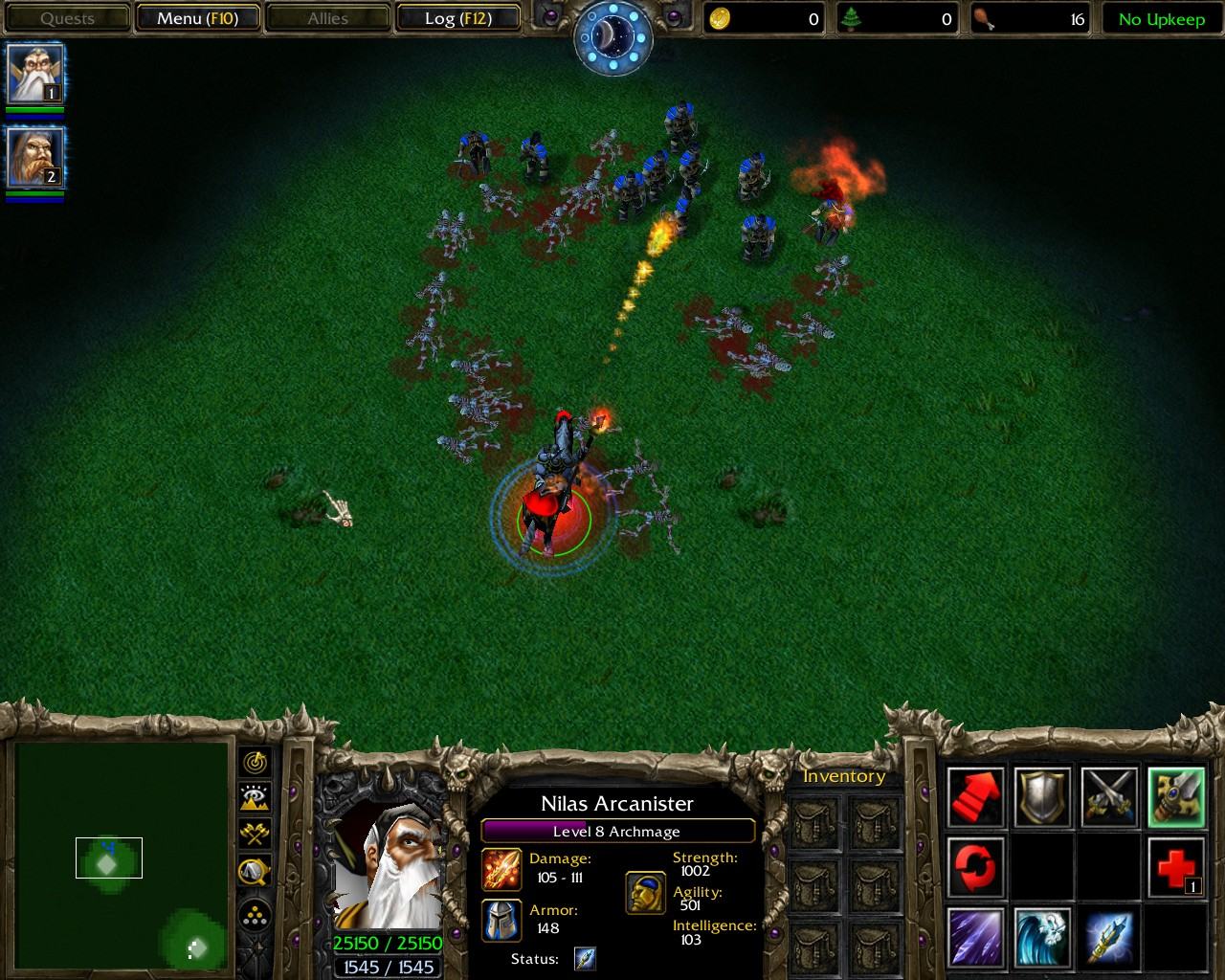 Warcraft III Spell resource