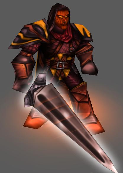 Jack O' Lantern Sword
